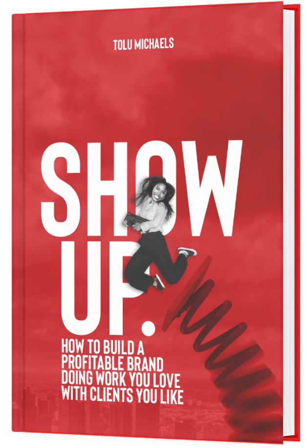 show-up-book-tolu-michaels