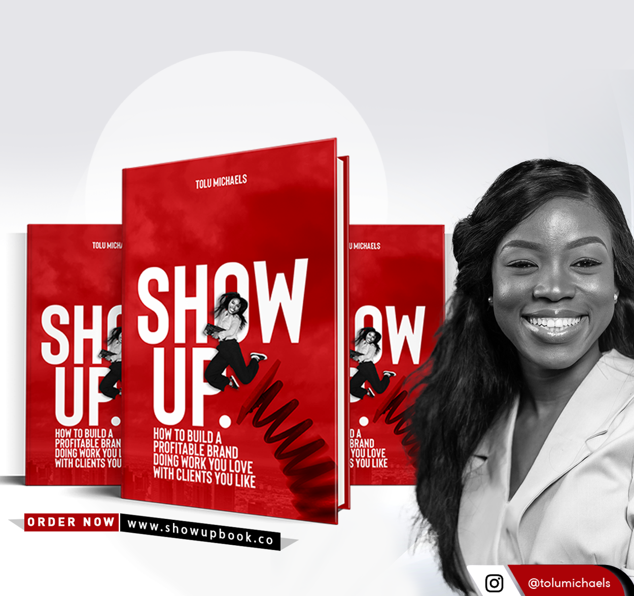 Show Up by Tolu Michaels | Tolu Michaels