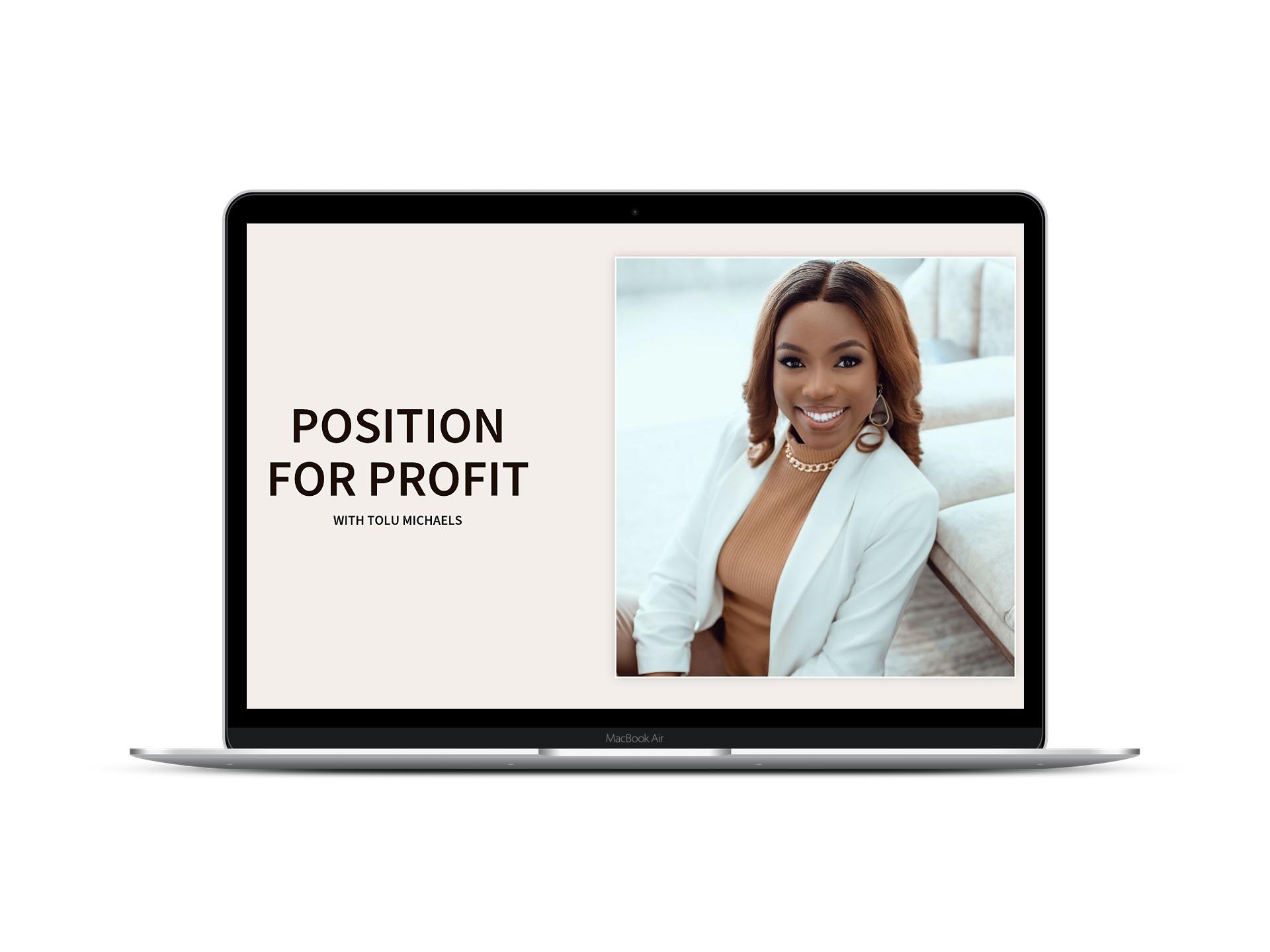 position-for-profit